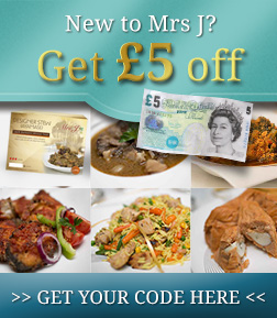 Mrs J Foods £5 Off Promotion